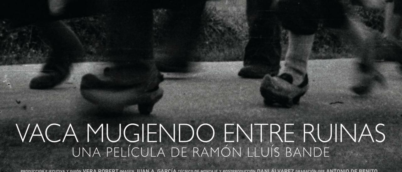 Detalle del cartel de la película de Ramón Lluís Bande