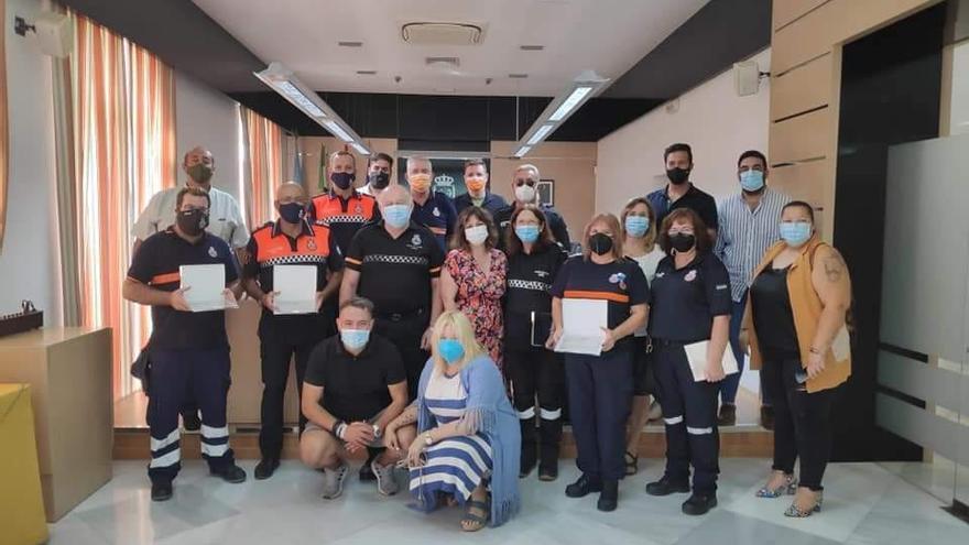 El Ayuntamiento de Navalmoral de la Mata dedica un acto de reconocimiento a Protección Civil