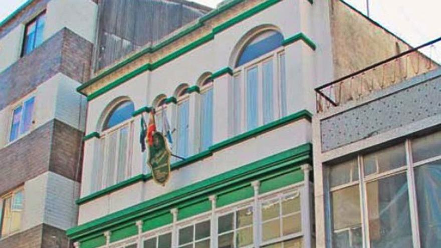El edificio modernista de El Sabor Extremeño, en Sada, a la venta por 310.000 euros