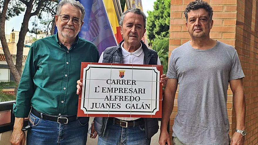 Albal dedicará una calle      a Alfredo Juanes Galán