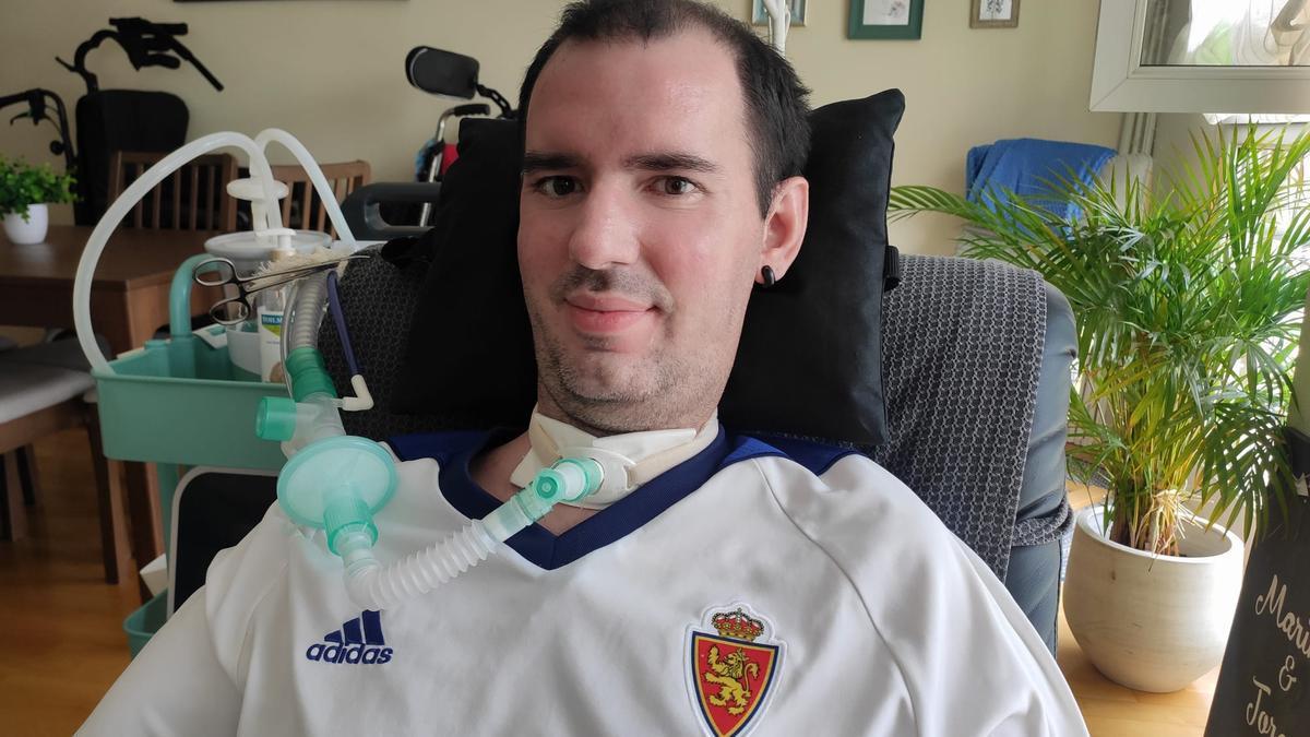 Jorge Murillo, antes de ver el partido contra el Espanyol por televisión.