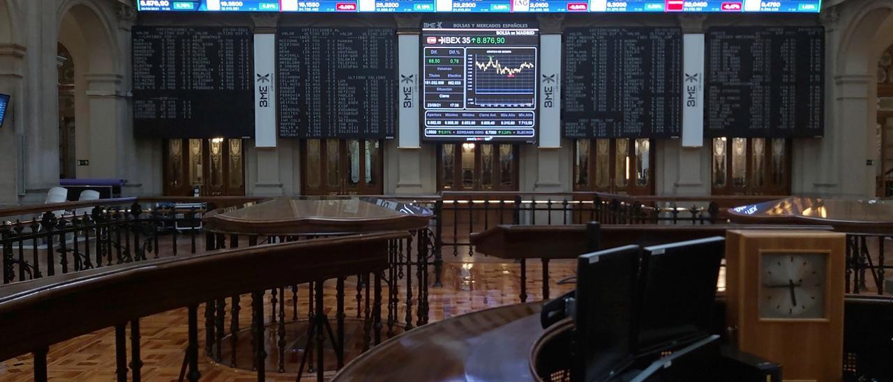 El Ibex 35 recupera tres meses después los 9.000 tras una notable subida del 1,46%