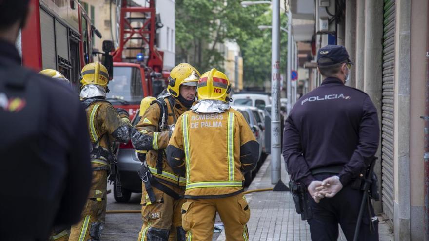 Fallece una mujer en un incendio en Ciutadella