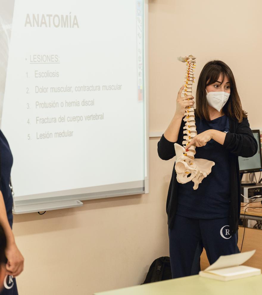 Jornada para fomentar la educación postural en el aula