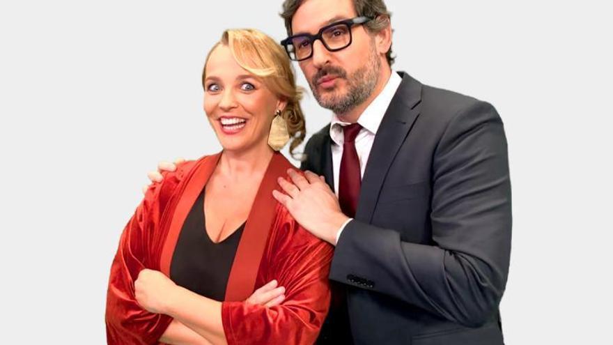 Carolina Ferre y Eugeni Alemany darán las Campanadas de À Punt
