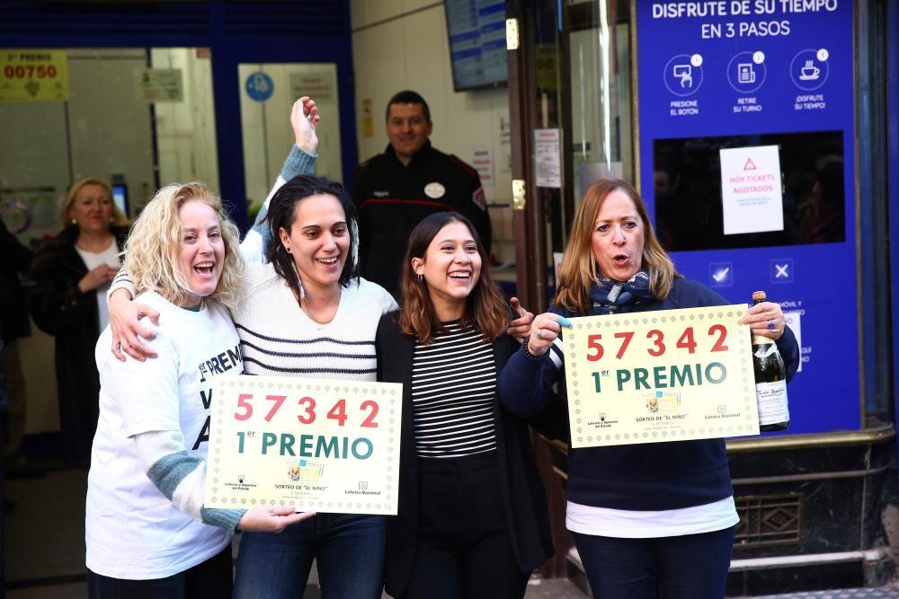 Doña Manolita vendió 10 décimos del Gordo del ...
