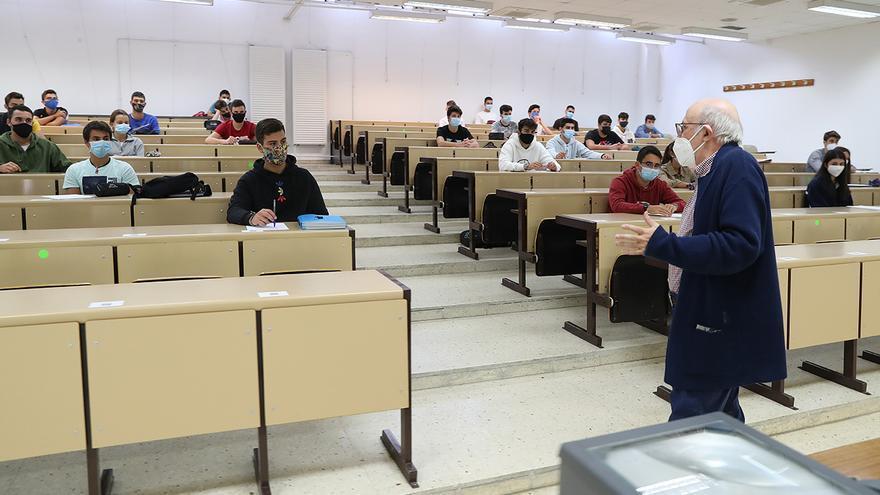 El 12,3% de la plantilla docente de la Universidad está en proceso de jubilación