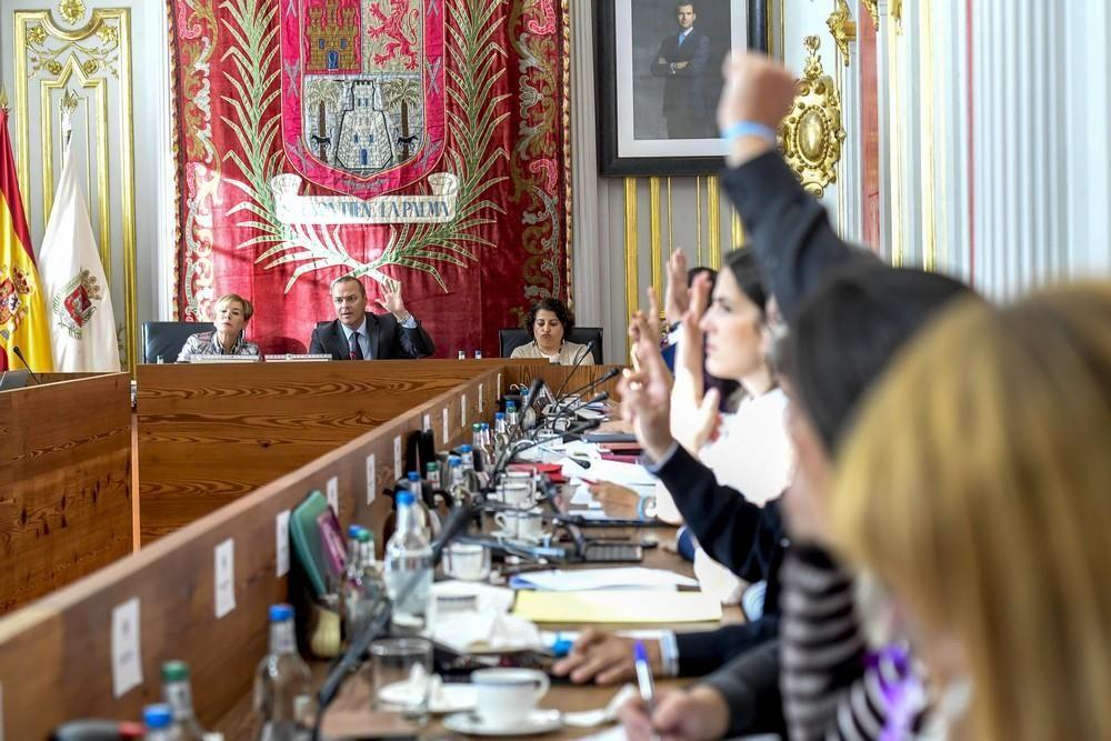 Pleno del Ayuntamiento de Las Palmas de Gran Canaria