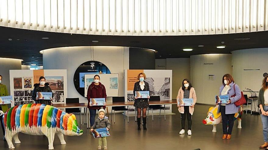 Entrega de premios del concurso virtual de disfraces de Lalín