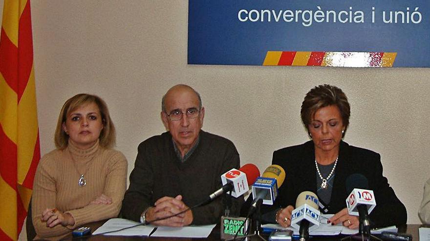 Mor Ferran Bartomeus, regidor de Sant Vicenç per CiU durant un mandat