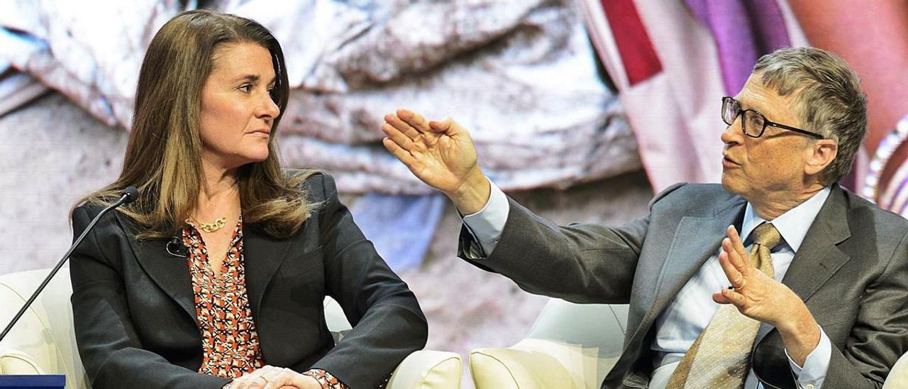 Melinda y Bill Gates, en una imagen de 2015. | Reuters