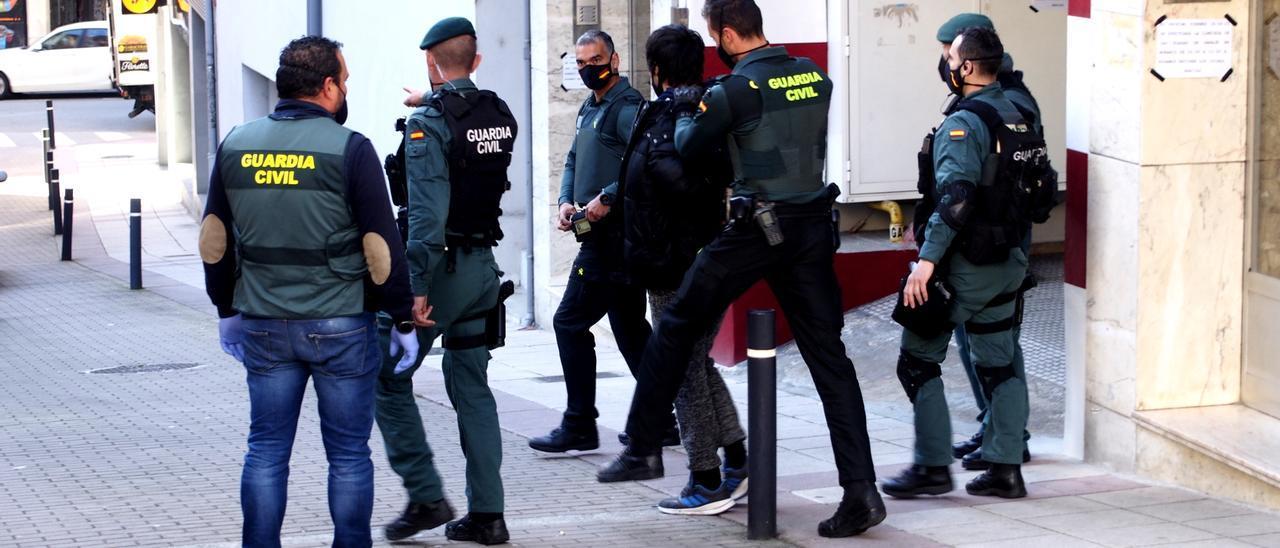 Detención en Noreña