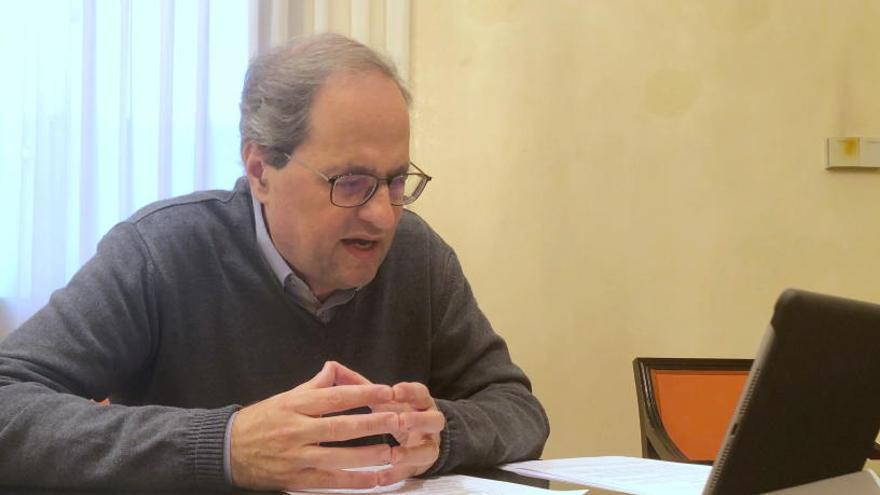 Quim Torra envía cartas a líderes europeos para criticar la gestión del Gobierno