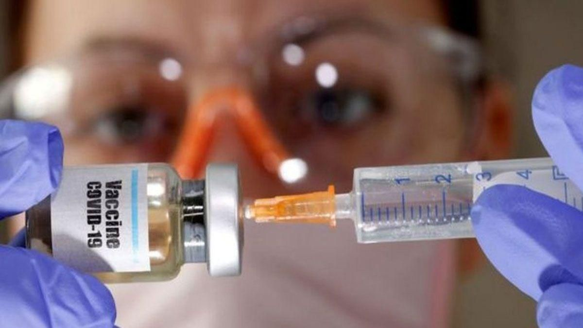 Una dosis de la vacuna de coronavirus.