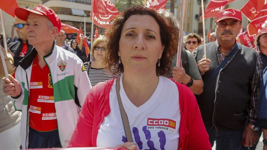 Carmen Palomar repetirá como secretaria de CC OO en el Baix Vinalopó y la Vega Baja