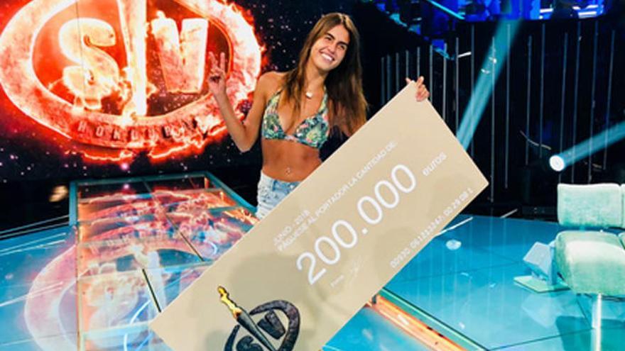 Sofía Suescun, ganadora de 'Supervivientes 2018'