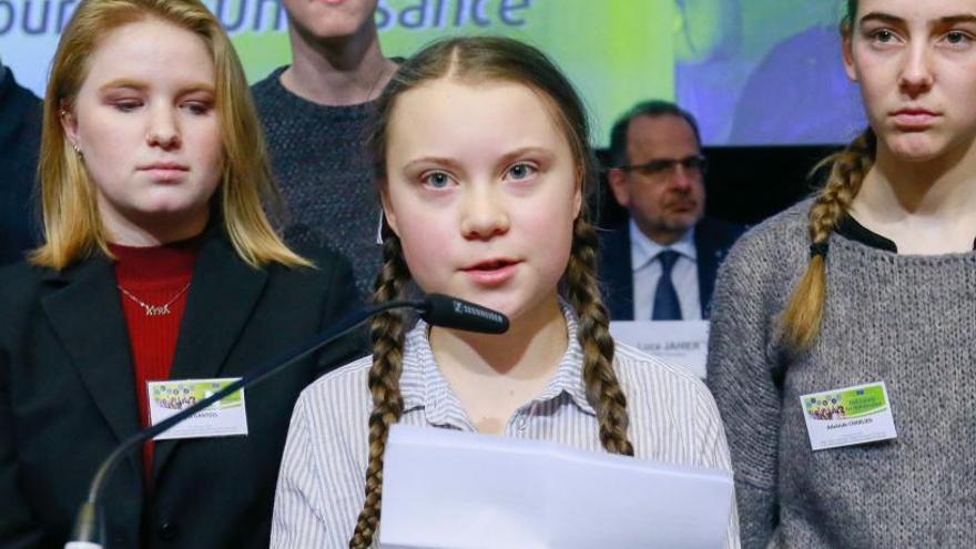 La joven activista Greta Thunberg, premiada por Amnistía Internacional