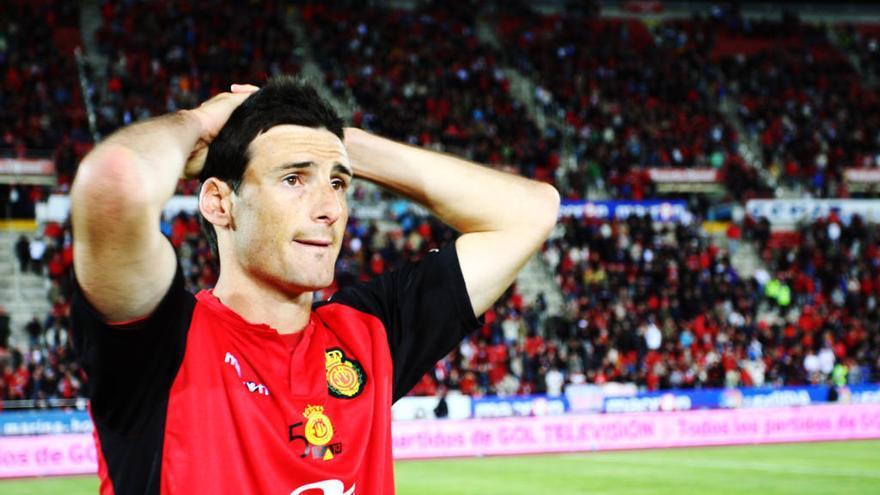 El Real Mallorca prepara una ovación en Son Moix para Aduriz
