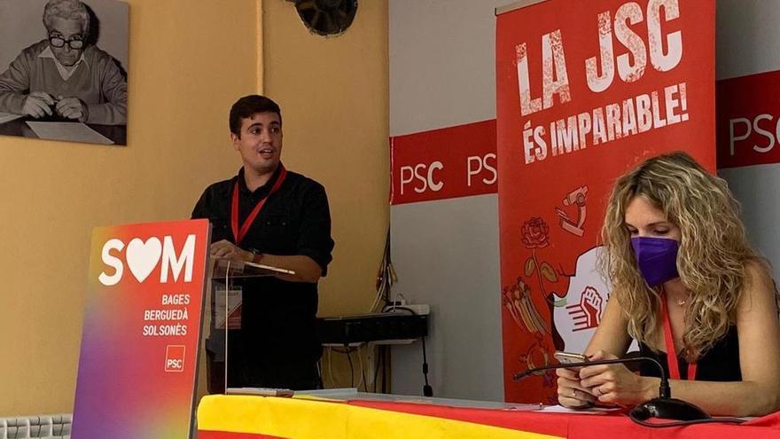 Àngel Sáez és reelegit Primer Secretari de la JSC a la Catalunya Central