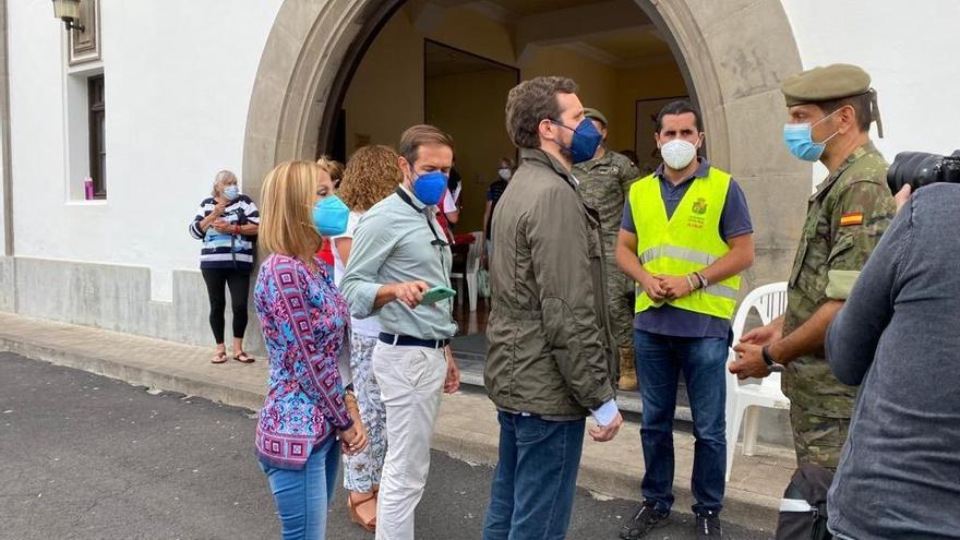 """Casado pide """"unidad de acción"""" y """"actuaciones rápidas"""" ante la emergencia de La Palma"""