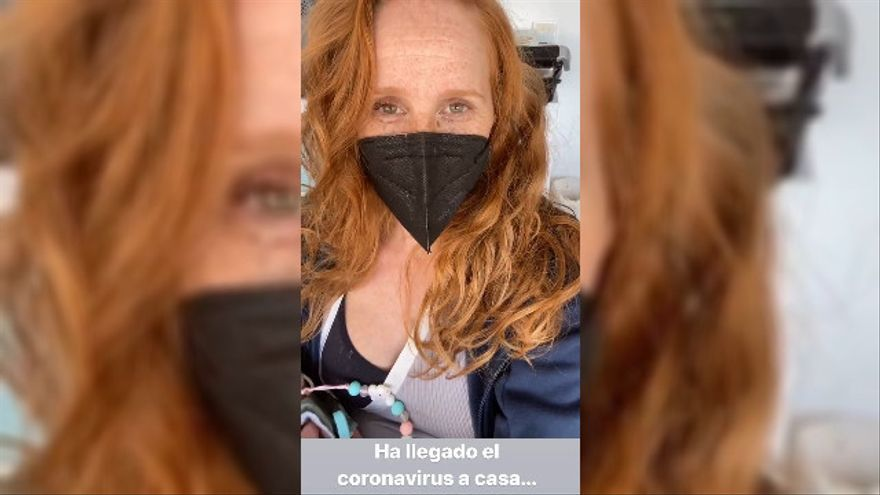 """María Castro, confinada con coronavirus: """"Creo que estamos todos contagiados"""""""