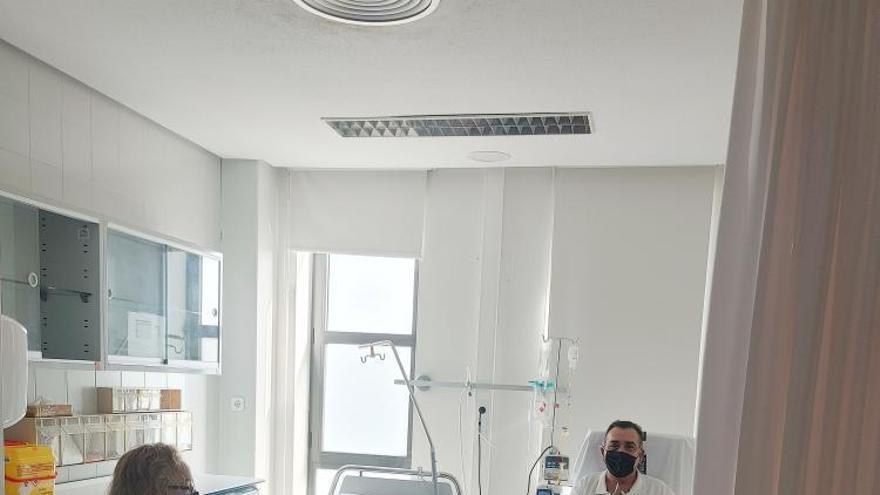 El área de preingresos alivia la presión del hospital al asistir ya a 6.000 pacientes
