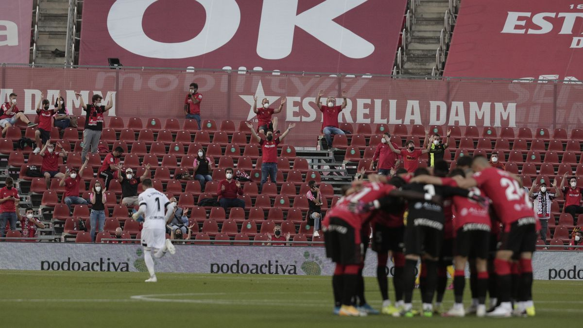 El Mallorca está a un paso de ascender a Primera División.