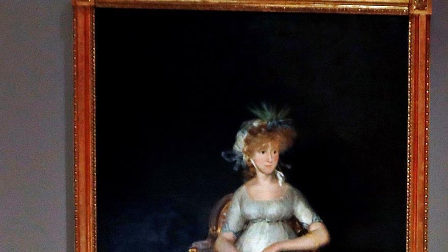 La aristócrata preferida de Goya recobra  su esplendor   en el Prado