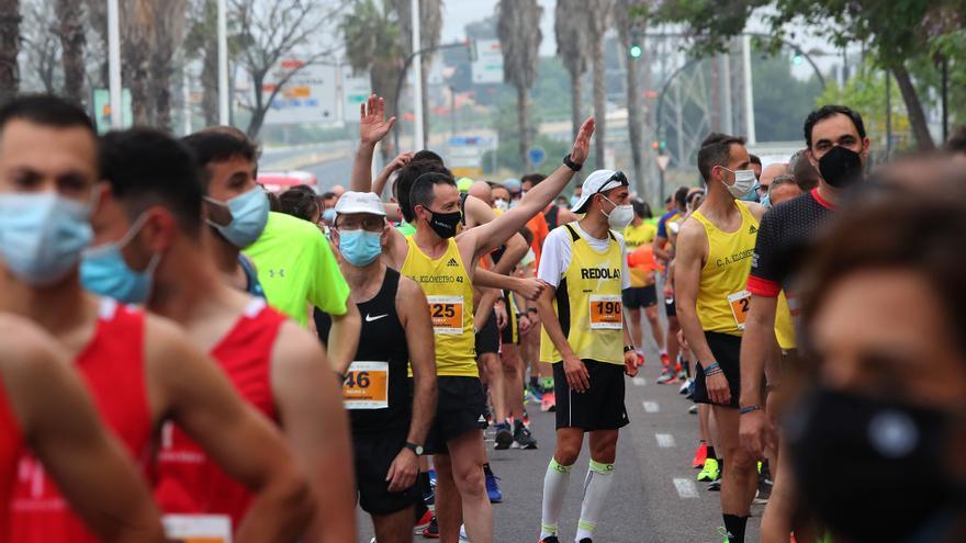 Consulta tu puesto en la meta de la carrera popular ValènciaCorre