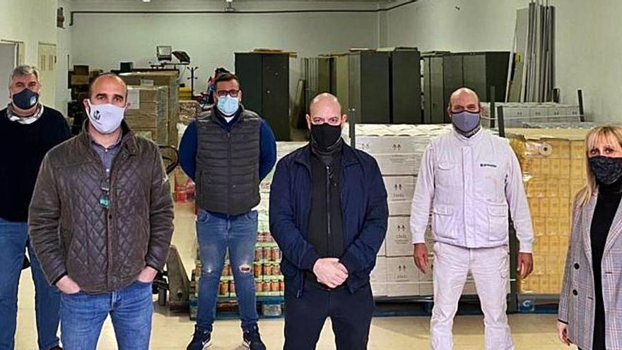 Lebensmittel für 30.000 Euro: anonyme Spende für Corona-Opfer
