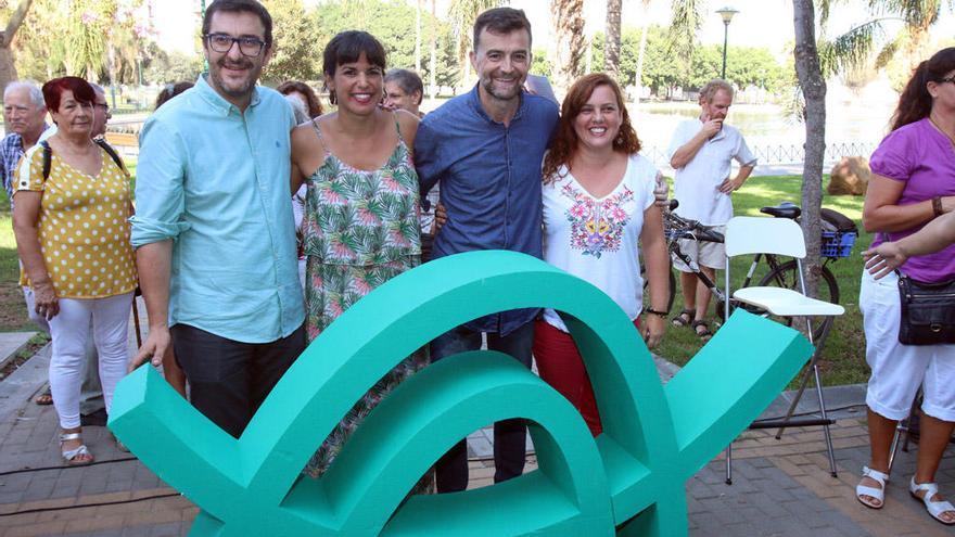 Llega a Málaga el tsunami de Podemos