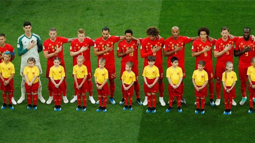 Así jugó Bélgica
