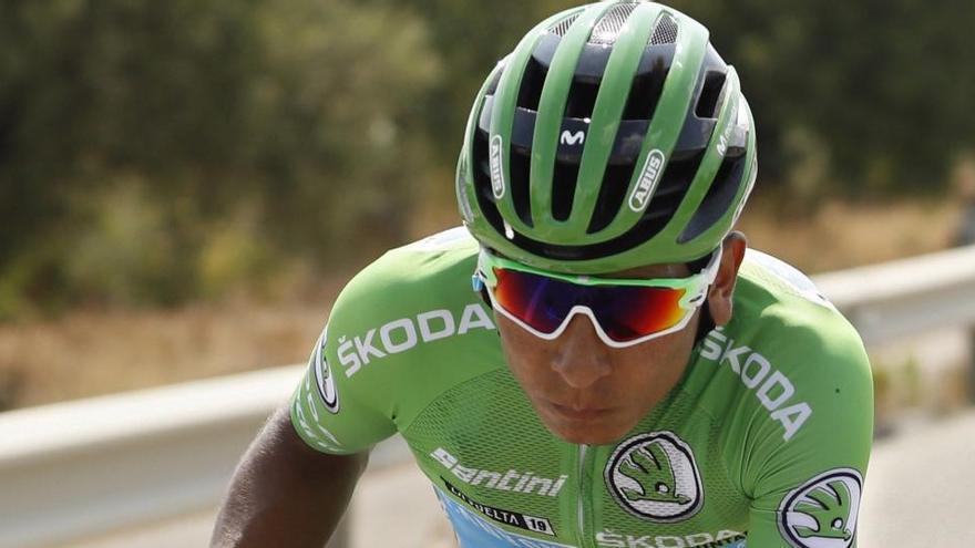 Nairo Quintana sufre un atropello en un entrenamiento