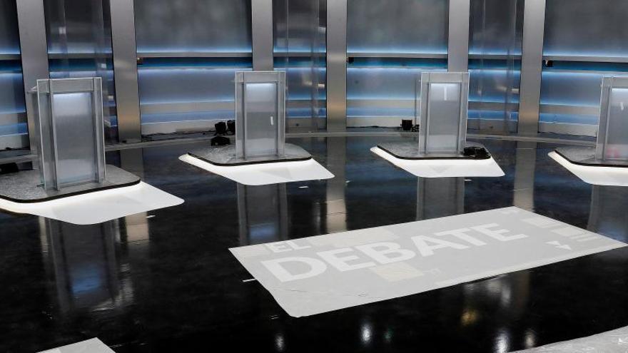 Así será el debate a cinco: todo lo que debes saber