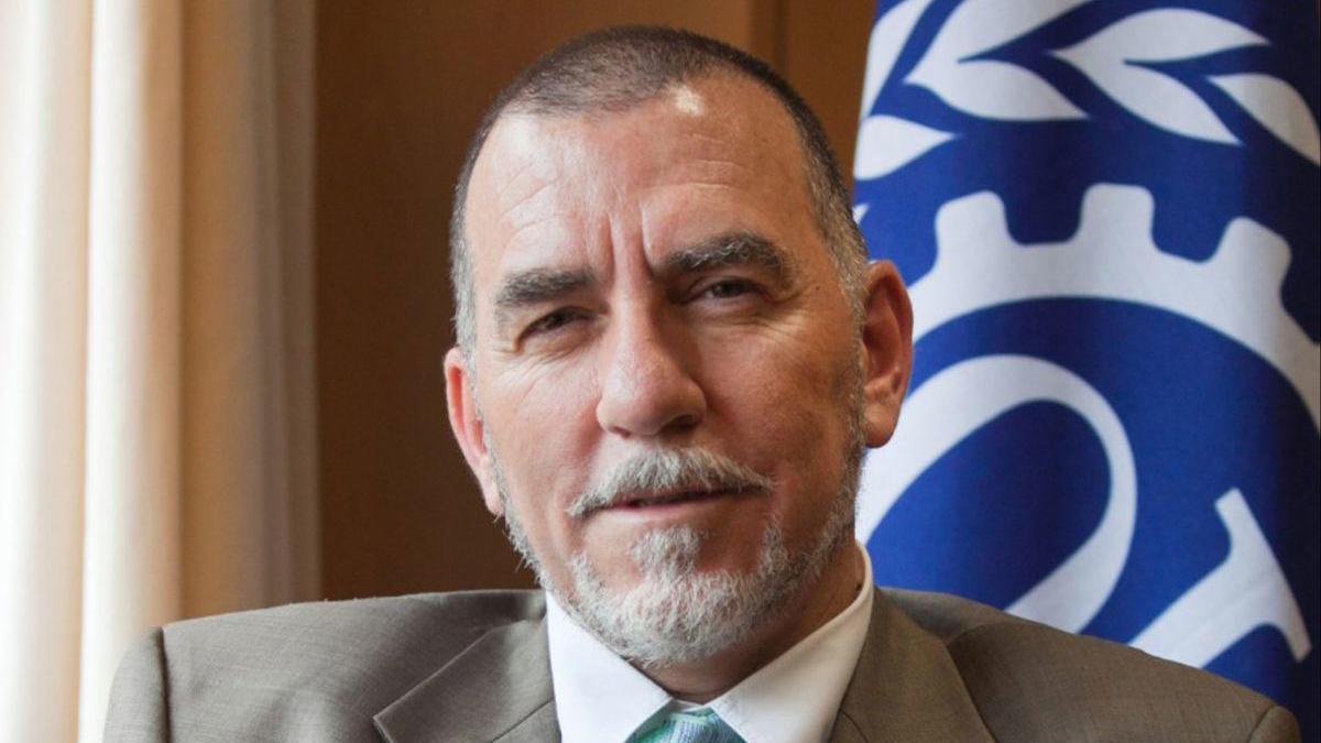 Joaquín Nieto es el director de la oficina en España de la Organización Internacional del Trabajo.
