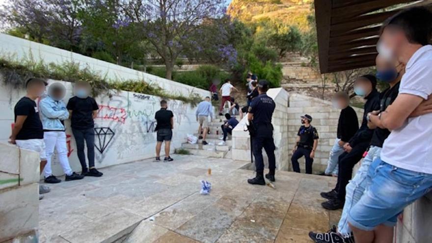 Siguen reduciéndose las fiestas y sanciones por incumplir la normativa covid en Alicante