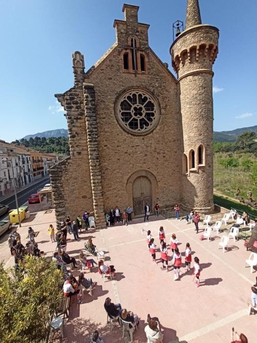 Caramelles a la Sagrada Família de la Bauma de Castellbell i el Vilar