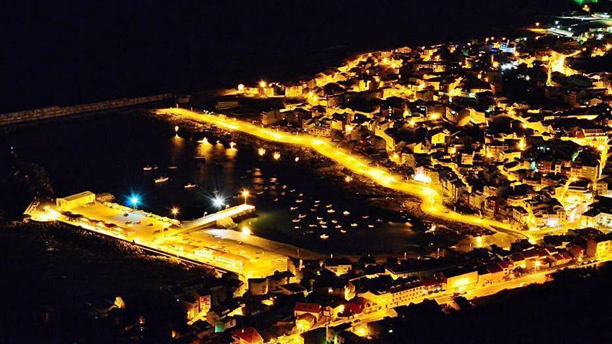 A Guarda adjudica el cambio de toda la iluminación del municipio por luces led