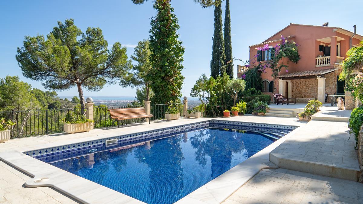 Casa en venta en la costa sur de Mallorca.