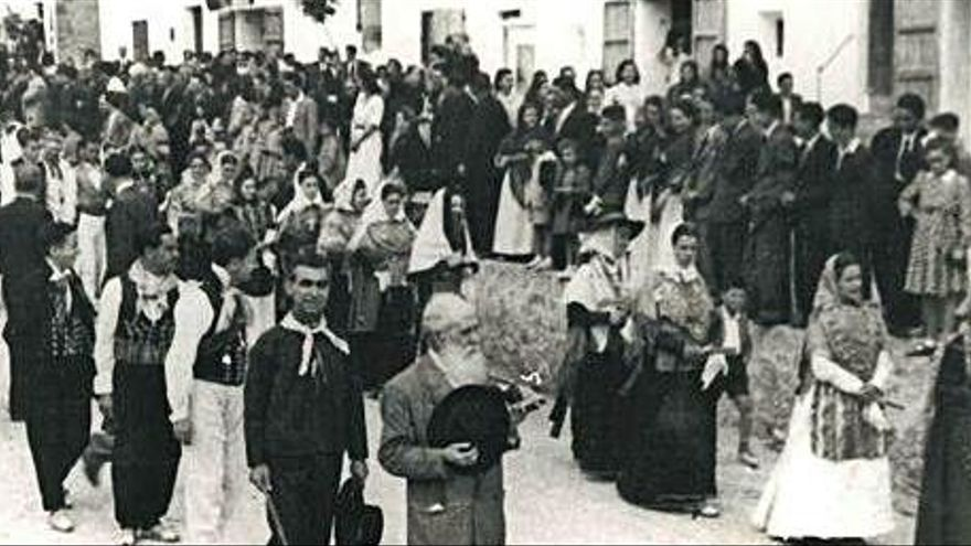 La festa de Sant Isidre a Sant Josep el 1948