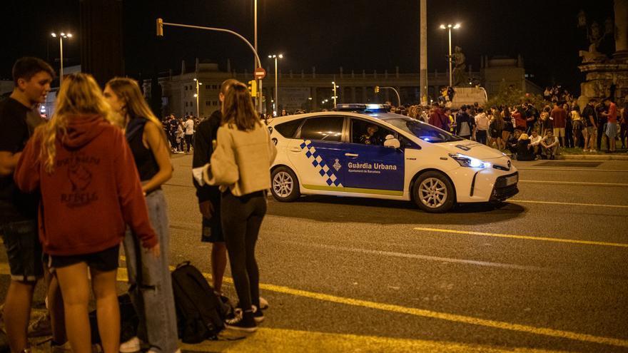 Nuevo macrobotellón en Barcelona con motivo de las fiestas del barrio de Sarrià