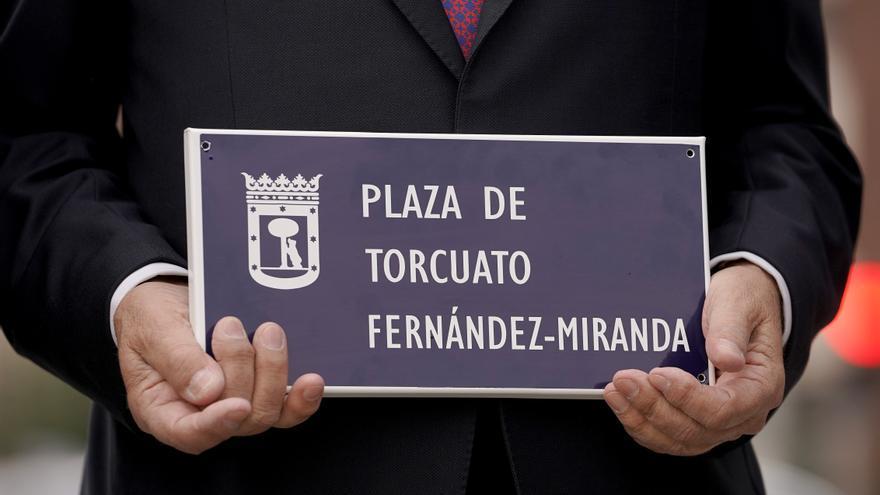 Torcuato Fernández Miranda y la transición ya tienen su plaza en Madrid