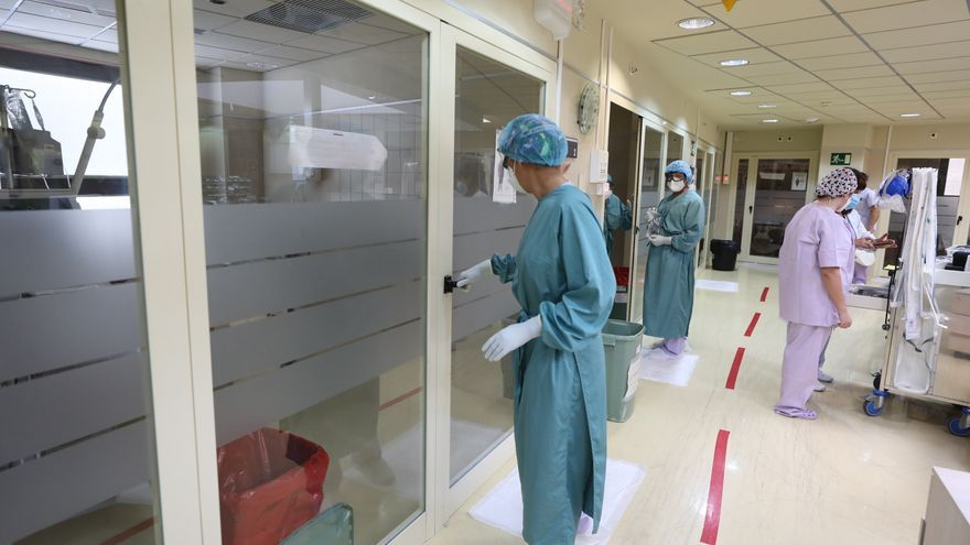 Mínima reducción de ingresados por covid en los hospitales de Elche este fin de semana