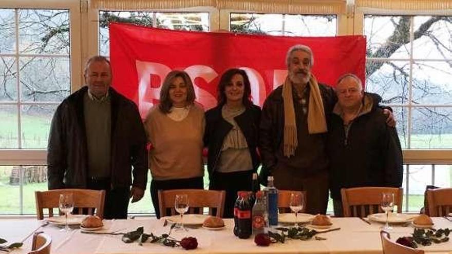 Sandra Pena y María José Cal repiten como candidatas por el PSOE en Aranga e Irixoa