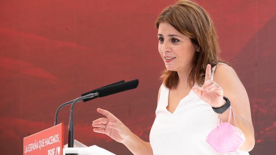 """Adriana Lastra: """"Casado es el vacío, la nada"""""""