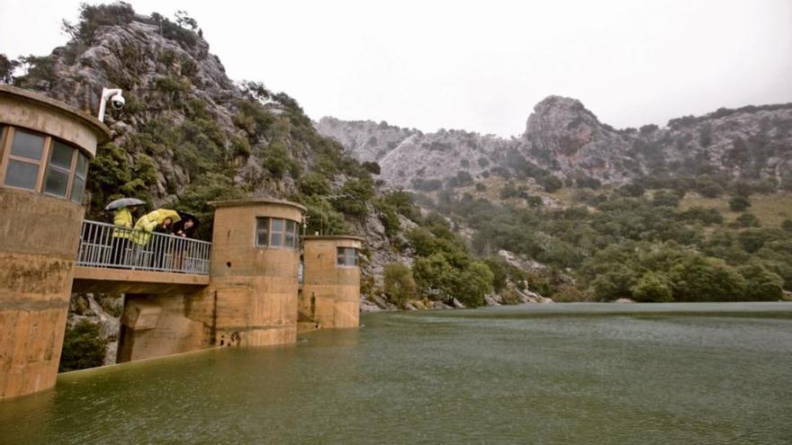 Guter Pegel in den Stauseen von Mallorca
