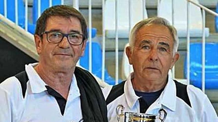 P. Guitart y J. Fuster, a por el podio nacional en tenis de mesa