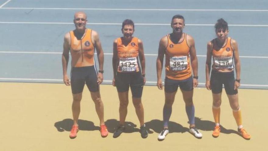 El Samertolaméu se trae cinco medallas