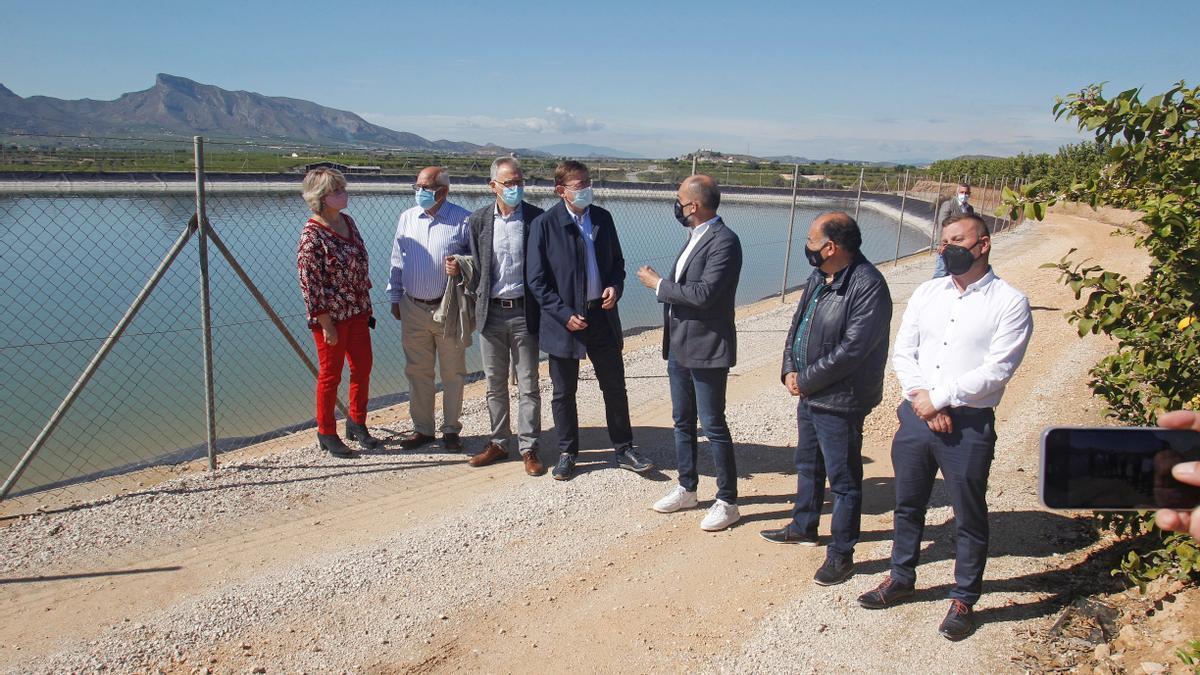 Puig en Alicante donde ha realizado las declaraciones sobre las restricciones