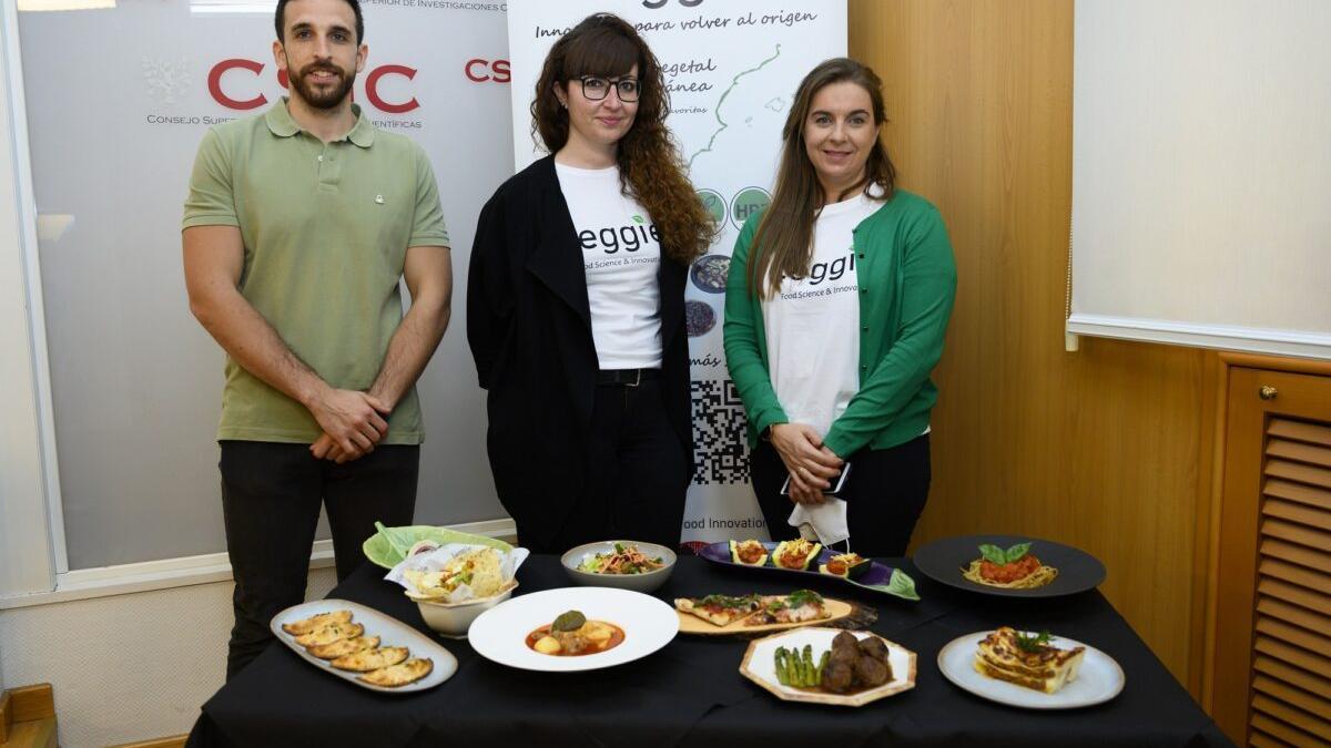 El CSIC inventa una 'carne vegetal' de algarroba, lista para comercializar